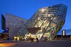 UFA Cinema Center designed by Coop Himmelb(l)au. Dresden