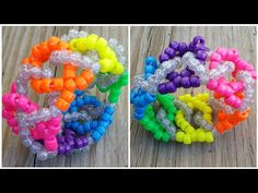 Since then, making Kandi has become a really important part of. A lot of people bring singles (the bead bracelets ravers wear) but some. How to make rave kandi necklaces Diy Kandi Bracelets, Diy Friendship Bracelets Patterns, Kandi Patterns, Beading Patterns, Stitch Patterns, Kids Craft Storage, Rave Candy, Pony Bead Projects, Kandi Cuff