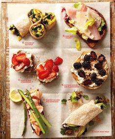 30 egészséges & tápláló szendvics