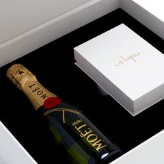 GPA Global specializes in custom packaging, displays and fixture solutions. Champagne Bottles, Welcome Gifts, Custom Packaging, Black Ribbon, Unique Gifts, Presentation, Stationery, Boxes, Copper