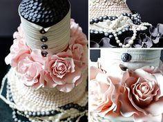 chanel cake _ glitterandpearls.com
