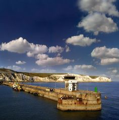 The White Cliffs of Dover, Kent, UK