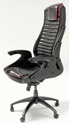 параметрическое офисное кресло kikosmontana