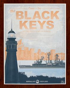 The Black Keys  Limited Edition Silkscreen door HeroDesignStudio, $150.00