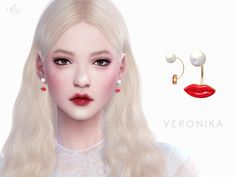 Earrings VERONIKA http://www.thesimsresource.com/downloads/details/category/sims4-accessories-female-earrings/title/earrings-veronika/id/1308944/