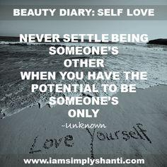 Beauty Diary: 10 Self-Love Quotes   I AM SIMPLY SHANTI