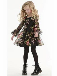 Biscotti Midnight Garden Dress