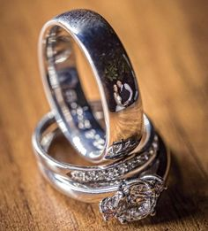 These Wedding Ring Photos Reflect The Happily Married Newlyweds - These wedding ring photos reflect the happily married newlyweds they belong to
