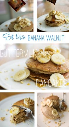 Buttermilk Pancakes. Gluten free and vegan