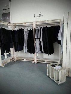 DIY Pallet Wardrobe | Pallets Designs
