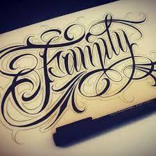 Imagem relacionada Gothic Lettering, Graffiti Lettering Fonts, Hand Lettering Fonts, Lettering Design, Ab Tattoo, Tattoo Script, Tattoo Fonts, Word Tattoos, Picture Tattoos