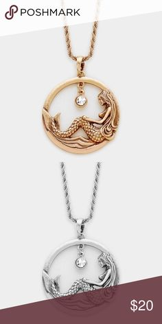 Coming today Mermaid earrings are available in my closet and can be bundled with a discount. Comes in rose gold burnished and silver burnished. Smoke free, cat friendly home. Photo credit: Farah Jewelry. Farah Jewelry Jewelry Necklaces