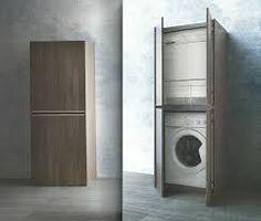 Mobile a colonna per lavatrice e asciugatrice home - Mobile lavatrice asciugatrice ikea ...