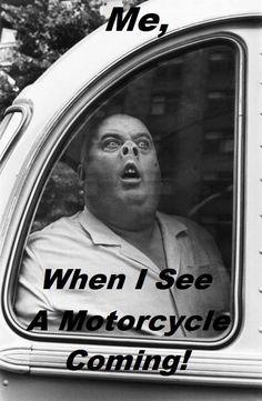 Hilarious! #motorcyclelife