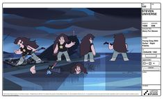 Steven Crewniverse Behind-The-Scenes Universe: A selection of Characters and Propsfrom the...
