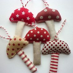 Toadstool Decorations