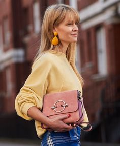 Zara's new collection is ensuring that we don't move on from last year's big earrings obsession. Click to see and shop our favourites.