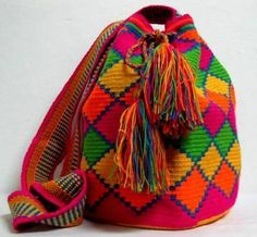 Wayuu Mochila GD59 This website is my favorite for the colors. No DIY, but it fills me up with ideas.