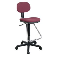Symple Stuff High-Back Drafting Chair Upholstery: Crave - Moss