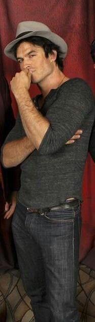 Smoldering Ian Somerhalder!  Hot!!