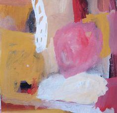 """Esencia.  Lo que brilla cuando parece que ya no queda nada  Proyecto """"En Esencia"""" Pigmento, resina /papel 15×15 Proceso aditivo en un único sentido; negro, rojo, ocre, blanco."""