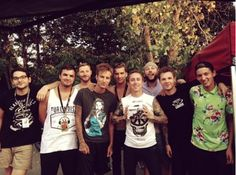 On the last day of Warped Tour 2014.