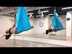 Aerial joga - FITOLOGY - Air Yoga - YouTube