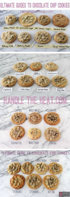Ultimate Guide to Chocolate Chip Cookies Parts 1, 2, 3, and 4! Everything you need to know about baking cookies!