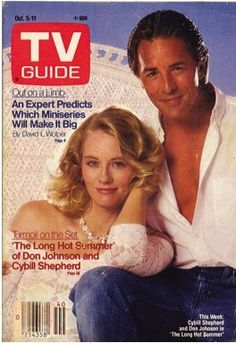 1985 Don Johnson Movie | 1985 cover story on the TV movie The Long, Hot Summer in which Cybill ...