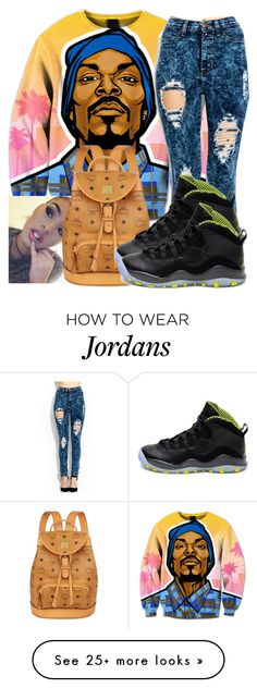"""""""Snoop Doggg"""" by chynaloggins on Polyvore featuring MCM and NIKE"""