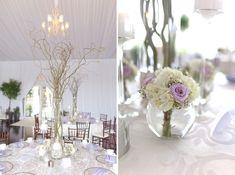 Lavender and White Sunday Brunch Florida Wedding