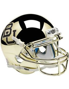 Every office needs a chrome #Baylor football mini helmet. #SicEm #BringTheBling (available at Baylor Bookstore)