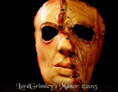 New 2015 31 Sewn Together Serial Killer Half Mask Halloween Horror Monster | eBay