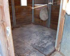 Horse Rubber Mats: An Alternative Bedding Solution