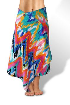 fbbed43903 Simple Sarongs - Beach towel that that you button to turn into a swim cover  up