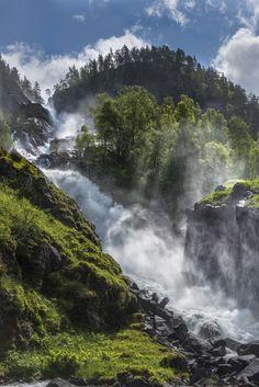 Låtefoss ~ Norway - beautiful!