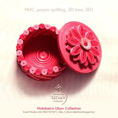 Nakshatra Utsav Collection: NUC_paper quilling_box_001