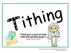 Tithing Poster Printable