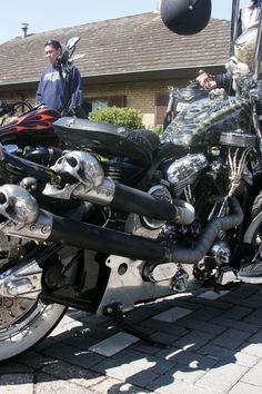 Harley Davidson Day, Breda, August 18th 2013.