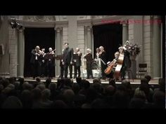 Countertenor Andreas Scholl and the Combattimento Consort Amsterdam with Jan Willem de Vriend perform Bach's 'Vergnügte Ruh, beliebte Seelenlust', one full tone lower.  Het Concertgebouw Amsterdam, 6 October 2012