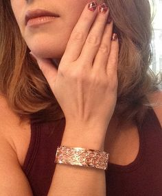 Fitbit Flex Cuff Bracelet X-Small / Small Rose Gold by techGLAM