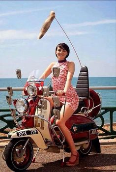 Mod girl - we are the mods, this is so similar to my first lambretta.
