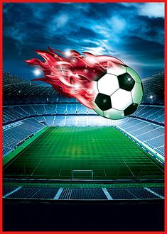 Football Art, Football Stadiums, Football Birthday, Antoine Griezmann, Sports Wallpapers, Beast Mode, Cool Wallpaper, Central Park, Event Posters