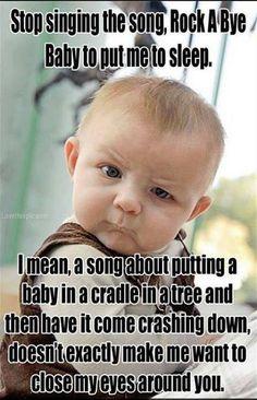That's why I never sang it to my kids...lol!!!  It's disturbing!