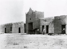 Fort Bliss, El Paso, Texas...circa 1865... This is an amazing photograph.