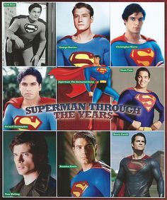 5/20/14 8:52a Superman Throughout The Years. Who is Gerard Christopher? He was ''Superboy'' in Seasons 2-4 in the ''Superboy'' Series 10/1988-1992 Syndicated. John Haymes Newton was ''Superboy'' in the First Season. Tom Welling in ''Smallville'' was neither ''Superman'' nor ''Superboy'' over 10 Seasons, he never Knew who he was. Thanks for the Info Jay Junior henrycavill.org
