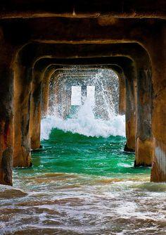 Surf Under the Pier