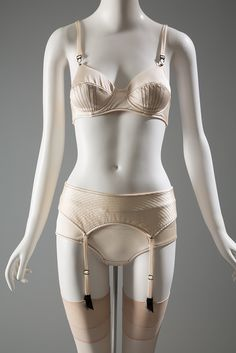 AF Vandevorst lingerie ensemble, 2006. Collection of the Museum at FIT #lingeriehistory