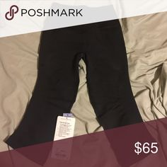 lulu lemon yogas Size 6 crop fitted yogas new with tags attached! lululemon athletica Pants Leggings