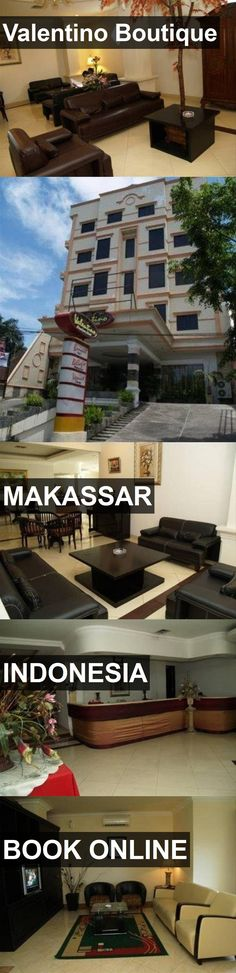 Hotel Valentino Boutique in Makassar, Indonesia. For more information, photos, reviews and best prices please follow the link. #Indonesia #Makassar #hotel #travel #vacation